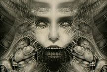 ☂ Giger to blow your mind ☂ / H.R. #Giger #Art #Collection. By Macabre Media