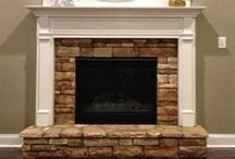 Fireplace Remodeling Ideas / Different styles of fireplaces   Remodeling that old looking fireplace   Making your fireplace the focal point of your room  