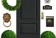 Curb Appeal / Gotta have Curb Appeal! How to make your home stand out with just a little effort. Wanna make your neighbors green with envy?