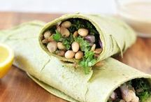 Healthy Wraps Recipes / A delicious board for healthy wraps recipes and healthy sandwich recipes. Most recipes are vegan and gluten-free.