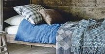 chalet living / the use of craft textiles in modern chalet style interiors