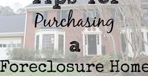 Foreclosures - How to Buy Them / Buying Foreclosures are not for the faint of heart. But, with a little planning it's a great way to make money. #foreclosures