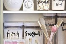 Organization Ideas For The Home / Some awesome organization ideas for the home - for more peace and productivity