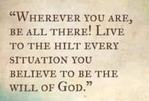 quotes & verses & truth / mostly quotes and Bible verses, but also good articles about faith