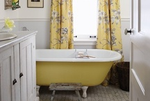 Bathroom Inspirations / Beautiful bathrooms make a girl feel special.  / by Amy Tipton