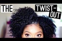 Natural Hair and Hair Inspiration / Black hair and beauty. Visual inspiration as I transition...