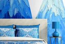 Bedroom Ideas / Murals are a great way to set a tone for your bedroom. Add a touch of the city or country, add graphic prints, or even use your own image for a more personal look. No matter what your style, your bedroom wall mural is a great way to add ambiance and atmosphere.