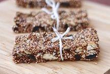 granola + energy bars/bites etc.