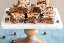 bar cookies / ...and brownies, blondies, and more! even healthy treats :)  wayyyy easier than regular cookies, by far!
