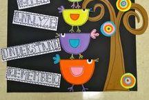 School...Bulletin boards / by Nina Foutch