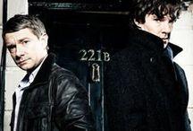Sherlock / Sherlock #BBC #BakerStreet #Moriarty #221B Benedict Cumberbatch // Martin Freeman