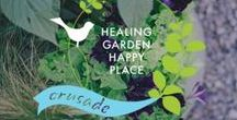 #HealingGardenHappyPlace / Mini design course + treasure hunt to learn the healing elements you need to create your very own healing garden happy place. Sign up for info > http://bit.ly/RBRGHealingGarden