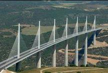 Art-Pont & Viaduc / Vue des pont de Paris, viaduc de Millau, ...
