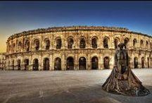 Histoire-Arènes & Amphithéâtre Romain / En France, Croatie, Italie Espagne ....