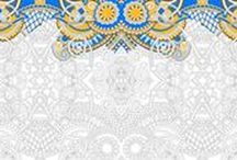 Coloring Wallpaper / Murals Your Way has added a coloring wallpaper collection!