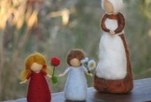 Plstěné figurky