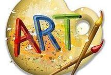 art ! Illustration ! / « Ce qui est important, ce n'est pas de finir une oeuvre, mais d'entrevoir qu'elle permette un jour de commencer quelque chose. » Joan Miro Un ton seul n'est qu'une couleur, deux tons c'est un accord, c'est la vie. » Matisse     / by Mireille DEROIT