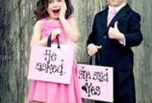 Ideas for Flower Girls and Ring Bearers / Here are some ideas for your flower girls and ring bearers.