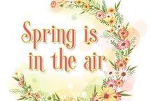 Printemps  Spring / L'amour est le printemps du cœur, et le printemps a mille et mille fleurs Alexandre Dumas / by Mireille DEROIT