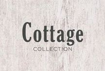 """Cottage Collection [BATH] / The new Cottage Collection by Cutler Kitchen and Bath seamlessly blends both classic and cozy aesthetic. The collection will be available at Home Hardware.   The Cottage Collection is available in two sizes (36"""" and 48"""") and comes in a white beaded shaker door style and is a perfect fit for any home.  This collection is sold as DIY (Do It Yourself) or commonly known to as RTA (Ready To Assemble). Vanities are sold without a top. Decorative hardware (door and drawer handles) are not included."""
