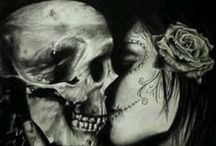 Death and woman