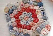 Patchwork-Hexagon