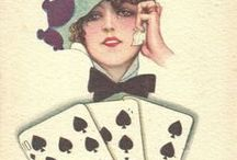 Artworks with playing cards 1
