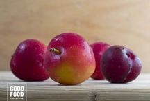 Plums / To ripen keep in a brown paper bag or in a fruit bowl on the counter. To keep them lasting longer store them in the fridge.