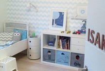 Gutterommet / Nytt hus, nytt rom til en liten gutt:-)