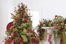 Christmas Tree Ideas / All styles and shapes of #Christmas Trees.