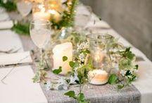 Esküvő virág és teríték inspirációk