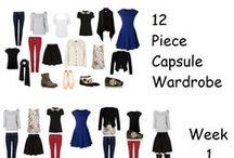 Capsule Wardrobe / Vereinfachung des gut sortierten Chaos im Kleiderschrank. Denn weniger ist mehr!
