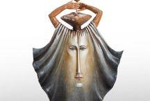 e.a./ BUSTAMANTE Sergio / 1949 Culiacan, Mexico    Sergio, escultor, artesano.  Una de las figuras mexicanas contemporáneas más sobresaliente a nivel internacional. / by Maria Selvas