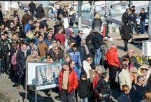 Spi Ouest France / La Trinité sur Mer en fête pour le Spi Ouest France 2015 ! Images : E Allaire / ScanVoile et V Mouchel - M Ollivier / Ouest-France