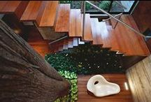 Design - Stairs / Beautiful staircase examples and also some DIY projects.