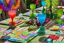 Holidays & Seasonal - Summer / Time for some summer fun in the sun. Celebrate the season and its holidays by decorating and having parties.
