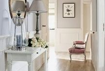 Design - Halls & Foyers / Beautiful hallways and foyers. Entries that impress. Big ideas for little spaces.