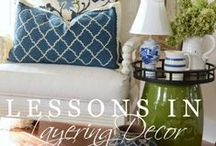 Design - Tips on Decorating / Interior design decorating tips and tricks to make the most out of your living spaces. What decor, styles or items make up your dream house?