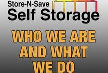 Who We Are and What We Do / Moving? Need Storage? Store-N-Save is your convenient secure self storage solution with locations across Ontario!
