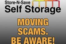 Moving Scams - Be Aware! / A wrong choice in the selection of a moving company to move a lifetime's worth of household possessions can be disastrous. Scam operators will take advantage of consumers by offering cut-rate prices, making unrealistic promises, inflating the price on moving day and holding the household possessions for ransom. If a mover's offer looks and sounds too good to be true, it is. Buyer Beware!