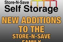 New Additions / Here are the newest additions to the Store-N-Save family!