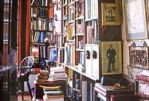 Living room & library
