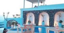 Iconic Santorini Pools