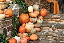 Fall Decorating Ideas / We thought we'd share some of our favorite ideas we've seen – and would like to try!