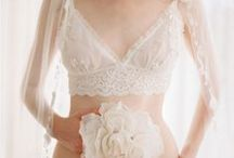 Bridal/White Lace / Perfect lingerie for bridal or just when you're in the mood for white, lacy, and pretty!