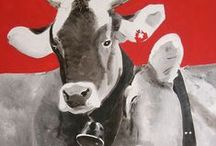 vaches / by Sylvie Graber