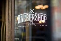 """The Barbershop / Men's galore. A combination of items to influence the """"man space""""."""