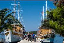 Cyklozájezdy Chorvatsko / Pokud máte rádi aktivní dovolenou, vyzkoušejte kombinaci kolo a loď a pojeďte na cyklozájezd po Jadranu. Poznáte kus Chorvatska za 7 dní! Nevšední cyklodovolená!