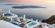 Press Features / Iconic Santorini featured in the press...