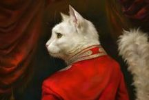 Cat Paintings by Eldar Zakirov / Beautiful Cats